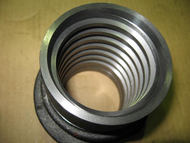セグメント金物 台形ねじ材質 鋳物
